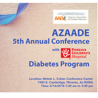 AZAADE 5th Annual Conference with Phoenix Children's Hospital Diabetes Program