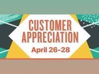 Customer Appreciation Week Spring Fest 2018 @ Tricycled Treasures