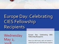 Europe Day: Celebrating CIES Fellowship Recipients