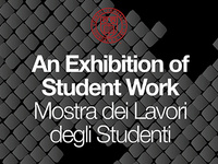 Cornell in Rome: Exhibition of Spring 2018 Student Work