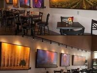 Greg Lehman Photography artist's reception @ Plumb Cellars