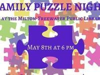 Family Puzzle Night @ Milton-Freewater Public Library