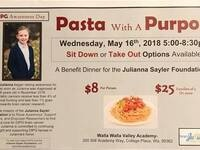 2nd Annual Pasta with a Purpose @ Walla Walla Valley Academy
