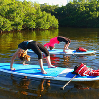 What's SUP Yoga: Outdoor