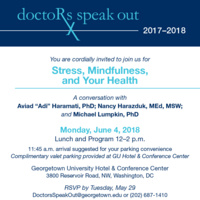 "Doctors Speak Out ""Stress, Mindfulness, and Your Health"""