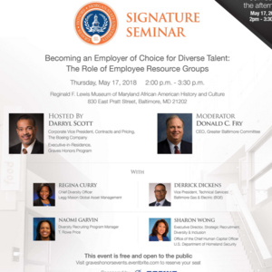 Graves Honors Signature Seminar: Becoming an Employer of Choice for Diverse Talent