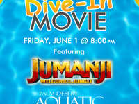 What's Playing at the Dive-In! Jumanji 2: Welcome to the Jungle!