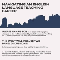 Navigating an English Language Teaching Career