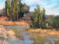 Pastels, Oil and Wax - Gallery Opening - Works of Bonnie Griffith @ CAVU Cellars