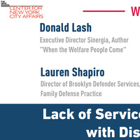 Lack of Services for Families with Disabilities