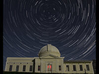 Stargazing at Fuertes Observatory