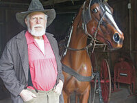 Living History Performance: William Rockfellow, Wagonmaster & Prospector @ Fort Walla Walla Museum