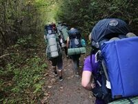 Uwharrie National Forest Backpacking
