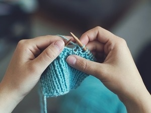 Knit, Stitch, and Crochet Club at the Library