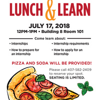 Internship Lunch and Learn