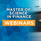 MS in Finance Virtual Information Session