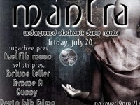 Mantra! Underground Electronic Dance Music! No Cover!