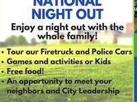 National Night Out / Paw Patrol & Frozen Meet and Greet @ Milton-Freewater City Hall