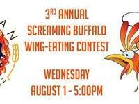 3rd Annual Screaming Buffalo Wing-Eating Contest @ Wingman Birdz & Brewz