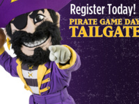 Pirate Game Day Tailgate: ECU vs. NC A&T
