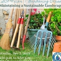 Maintaining a sustainable Landscape