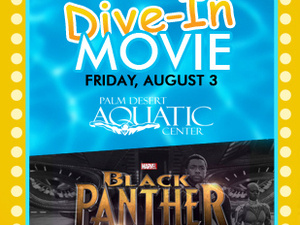 What's Playing at the Dive-In? Black Panther!