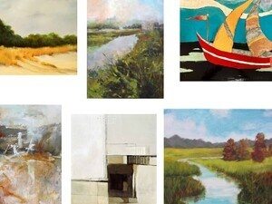 Bicentennial Traveling Art Exhibition: Kudzu Artists (Nowak, Surowe, Fortin)