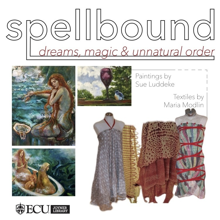 Spellbound: dreams, magic and unnatural order, Artwork by Sue Luddeke and Maria Modlin