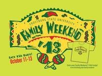 Family Weekend: Registration Table Opens