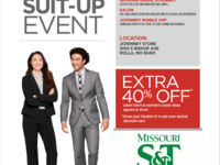 COER hosts JCPenney Suit Up Event