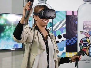 LIFEWTR HOSTS VIRTUAL REALITY PAINTING EXPERIENCE AT ARTSCAPE 2018