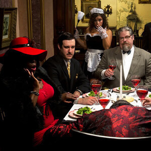 'Gate Night Trip Mystery Dinner at the Museum of Intrigue