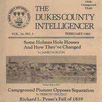 Dukes County Intelligencer Back Issue Blowout