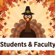 TCC Students and Faculty Thanksgiving Break