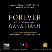 FOREVER: A Jazzy Café-Concert by Oana Lianu - the Princess of Panflute