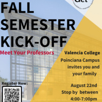 Fall Semester Kick Off - Poinciana Campus