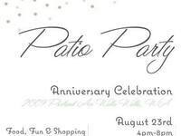 2nd Annual Patio Party Anniversary Celebration @ The Nest A Spa & True Salon