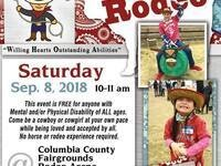 Rascal Rodeo: Rodeo for anyone with disabilities @ Columbia County Fairgrounds