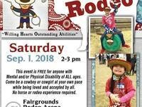 Rascal Rodeo: Rodeo for anyone with disabilities @ Walla Walla County Fairgrounds