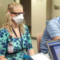 Respirator Fit testing for UNMC Employees