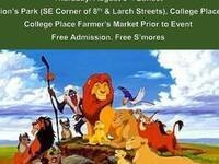 Movies at the Park - The Lion King @ College Place Lions Park