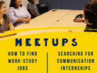 MeetUp: How to Find Work Study Jobs