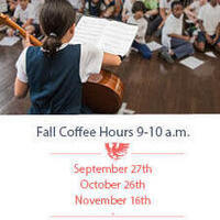 Coffee & Conversation for Prospective families PreK-5th grade