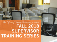 Supervisor Training Series - Effective Interviewing