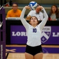 Kenyon College Volleyball vs  Hiram College - Dig Pink