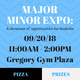 Major Minor Expo