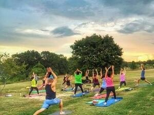 Yoga in the Park - Freeman's Mill Park