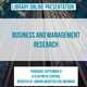 Business and Management Library Research
