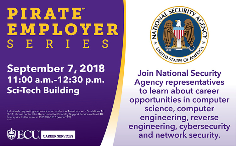 Pirate Employer Series – National Security Agency