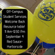 Off-Campus Student Services resource table